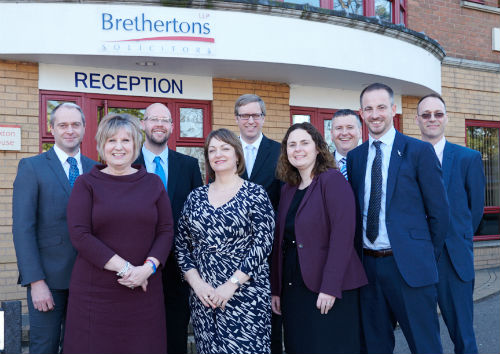 Brethertons 9 new Partners